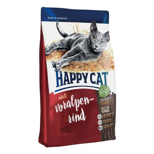 HAPPY CAT ADULT Voralpen-Rind 2 x 10kg