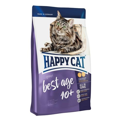 HAPPY CAT Best Age 10+ Senior 4 x 4kg