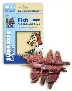 Huhu Fish Goldfish with Meat 75g