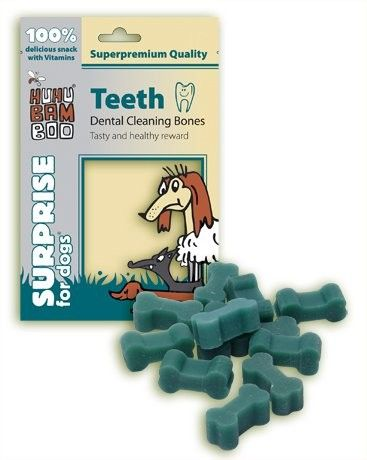 HUHU Teeth Dental Cleaning Bones 75g Huhubamboo