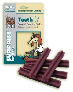 Huhu Teeth Scented Cleaning Sticks 75g