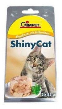 Konzerva SHINY CAT - tuňák 2x70g