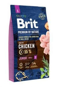 Brit Premium Dog by Nature Junior S 8kg