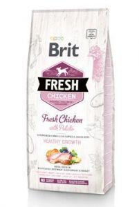 Brit Fresh Dog Chicken&Potato Puppy Healthy Growth12kg