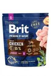Brit Premium Dog by Nature Junior S 1kg
