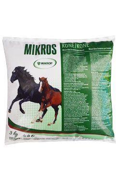 Mikros Koně plv 3kg Mikrop ČEBÍN a.s.