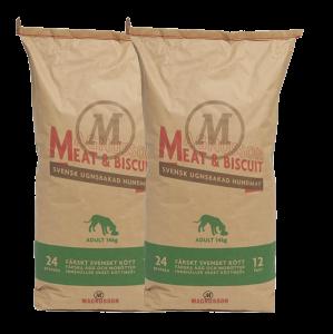 Magnusson Adult meat&biscuit 2x14kg  + doprava zdarma