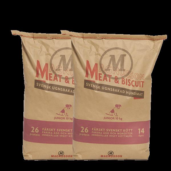 Magnusson Junior meat&biscuit 2x10kg + doprava zdarma