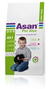 Asan Pet Aloe podestýlka pro hlodavce 45l