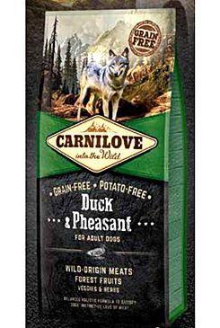 Carnilove Dog Duck & Pheasant for Adult NEW 12kg VAFO Carnilove Praha s.r.o.
