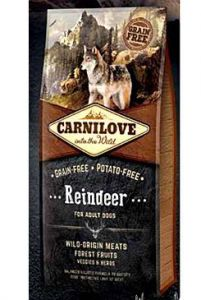 Carnilove Dog Reindeer for Adult  NEW 12kg